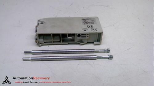 REXROTH Singapore India R 480 240 875, PNEUMATIC MANIFOLD END BLOCK, 24 VDC, 10 BAR #231335