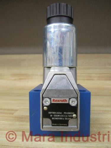 Rexroth Bosch R978914241 Valve M-3SEW10U14/420MG96N9K4/B15V - origin No Box
