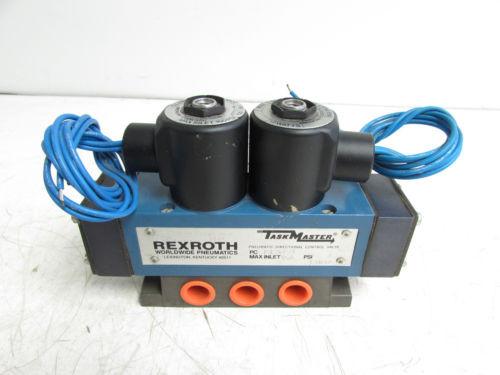 REXROTH PJ35771 PNEUMATIC DIRECTIONAL CONTROL VALVE 150PSI 120V 22VA 12W NNB