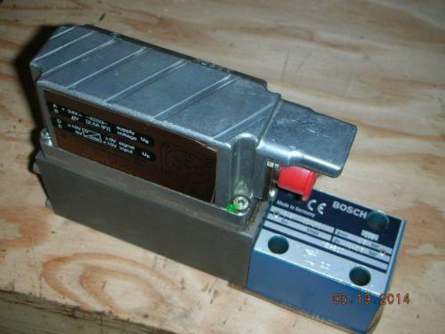 Bosch Rexroth 0 811 402 070 Hydraulic Proportional Valve DBETBEX-1X/315G24K31A1M