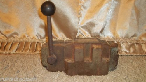 REXROTH VALVE Made in Germany Vintage Tool Weighs Almost 19 pounds Barn Find
