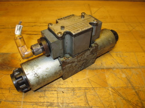 Rexroth 4WE6T60/DG24N9DK24L Hydraulic Directional Valve 24VDC Hydronorma