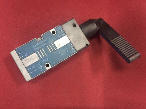 REXROTH 5634650100 Selector Type 5/2-way 1/4 Pneumatic Valve CD7 series