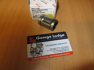 0602 USA Italy SERIES STAR REXROTH LINEAR BALL BEARING SEALED CLOSED TYPE