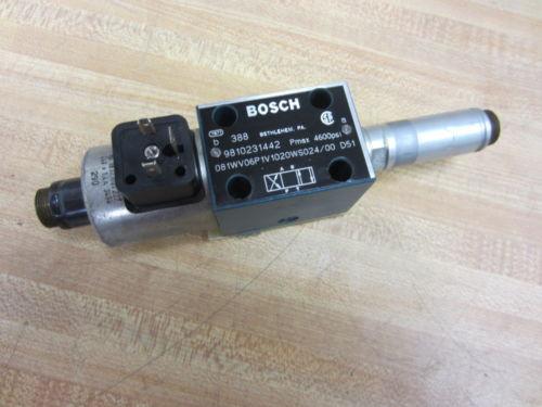 Rexroth Korea France Bosch Group 9810231442 Valve - Used
