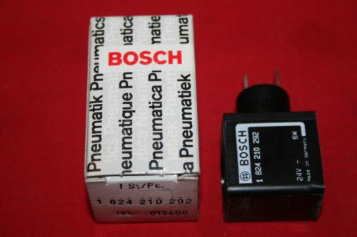 Origin Bosch Rexroth Solenoid Valve Coil 24VDC - 1 824 210 292 - 1824210292 - BNIB