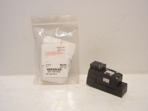 REXROTH BOSCH 261-108-150-0 Origin 261 PNEUMATIC VALVE 2611081500
