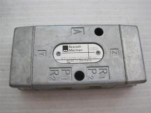 7149 Bosch Rexroth Mecman 5710020000 916 1203 Hydraulic Linear Direct Valve NOS