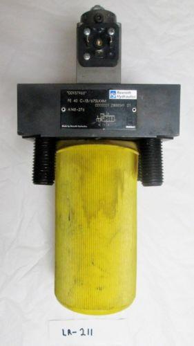 Rexroth Italy Canada Hydraulics Valve FE 40 C-13 670LK4M A148-276