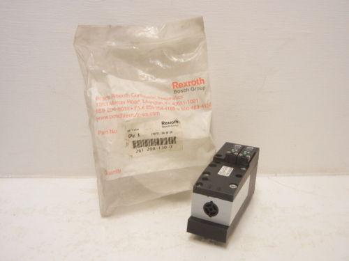 REXROTH BOSCH 261-208-130-0 Origin 261 PNEUMATIC VALVE 2612081300