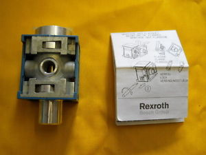 C4 EMERGENCY STOP VALVE REXROTH 5351600500 solenoid or air control