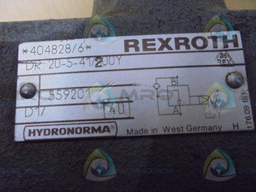 REXROTH  DR20541/200Y  VALVE USED