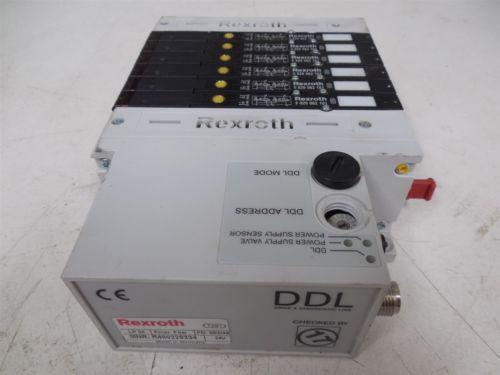 USED Rexroth R480229334 DDL LP04 Series Valve Terminal System Module 0820062101