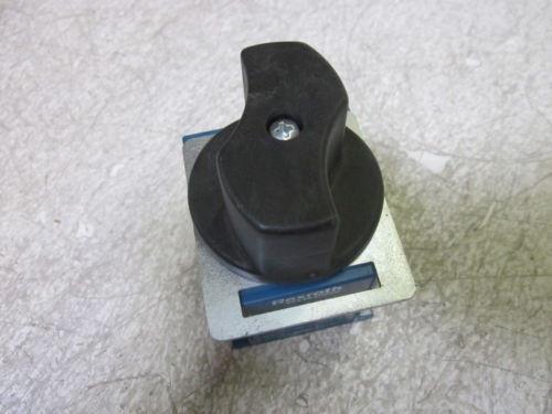 REXROTH 5352620600 ISOLATING VALVE  USED