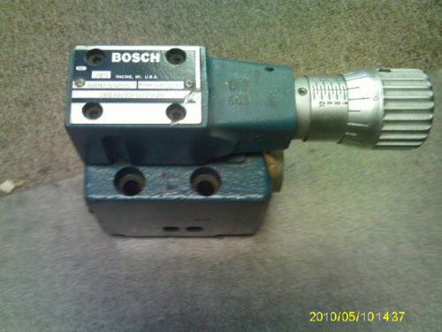 BOSCH 9811230205  # 081DMV10P131V502E 2400 PRESSURE REDUCING  VALVE