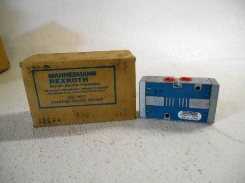 MANNESMANN PS34010-3355 REXROTH VALVE, MAX INLET 150 PSI, Origin
