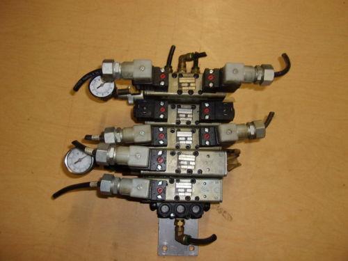 Rexroth Ceramic Lot of 5 Pneumatic Valves w/ Gauges GT-10061-2440 FREE SHIPPING