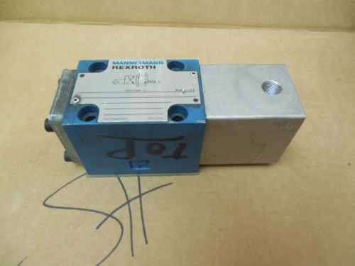 Mannesmann Rexroth Solenoid Valve 4WP6C52/N/5 4WP6C52N5 RR00885051 Used