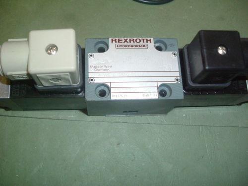 REXROTH HYDRAULIC 4 WE 6 G52 AG24NK4VALVE  Origin PACKAGED