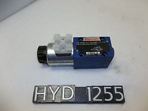 Rexroth Size 6 Directional Control Valve R978017757 HYD1255
