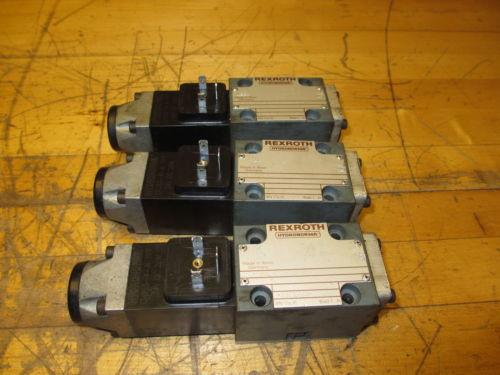 Rexroth Hydronorma 4 WE 6 D52/AG24N9Z4/B12 Hydraulic Valve 24V GU35-4-A 199