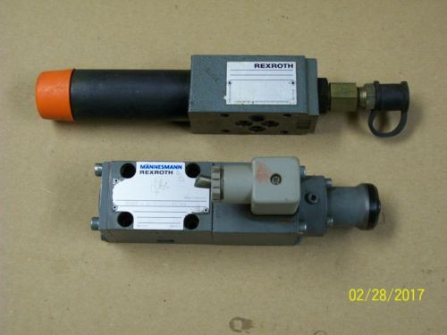 REXROTH HYDRAULIC VALVE ZDR 6 DP2-42/75YM/12 amp; VALVE 3DREP 6 A-11/25A24NZ4M