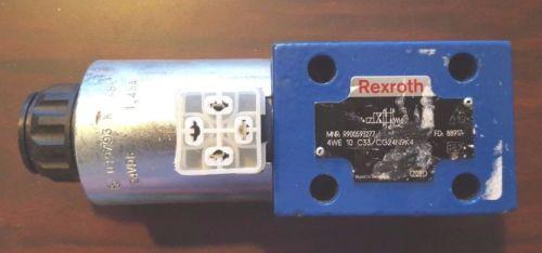 origin Rexroth 4WE10C Directional Valve C33/CG24N9K4 Part# R900593277
