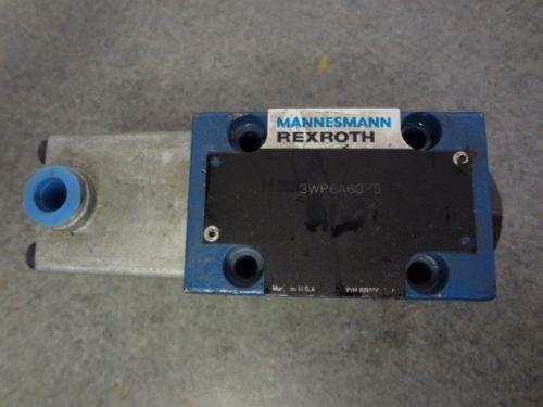 Mannesmann REXROTH Hydraulic Valve 3WP6A60/5