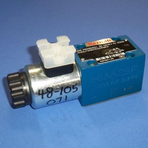REXROTH 24VDC 125A HYDRAULIC SOLENOID VALVE, 4WE6J19A62/EG24N9K4 Origin