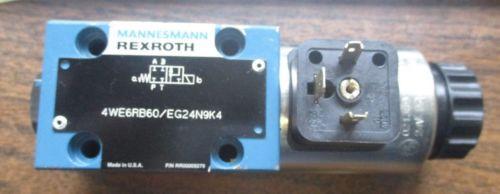 Origin REXROTH VALVE 4WE6RB60/EG24N9K4
