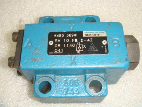 Origin, REXROTH, HYDRAULIC CHECK VALVE, SV10PB242, Origin NO BOX