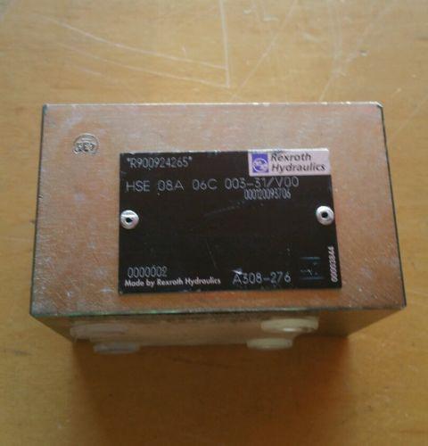Rexroth Hydraulics Valve HSE 08A 06C 003-31/V00