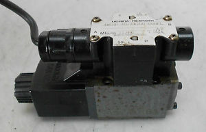 Uchida Rexroth Directional Control Valve 4WE6D-A0/AW100-00NPL, Used, WARRANTY