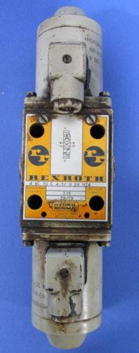 REXROTH DIRECTIONAL CONTROL VALVE 4WE10E41/G24 NZ4