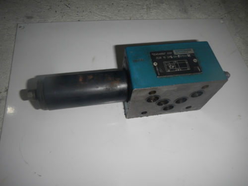 Rexroth ZDR-10-DP2-54/75YM/12 D05 Hydraulic Reducing Control Valve