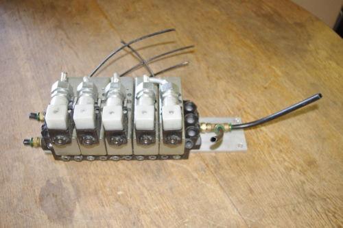 Rexroth Ceram GT10061-2440 x 5 Air Valve Control Manifold Assembly FREE SHIP