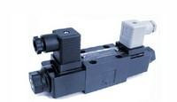 Yuken S-DSG Series Solenoid Operated Directional Valves - Shockless Type