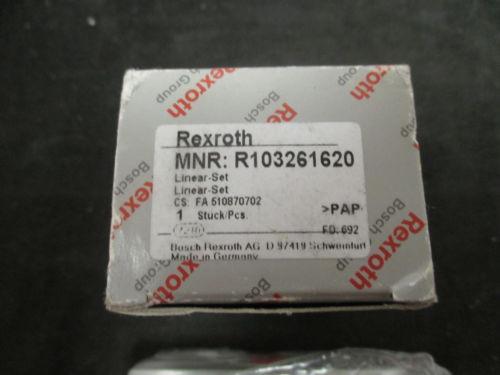origin Rexroth Linear Set Closed Block - R103261620