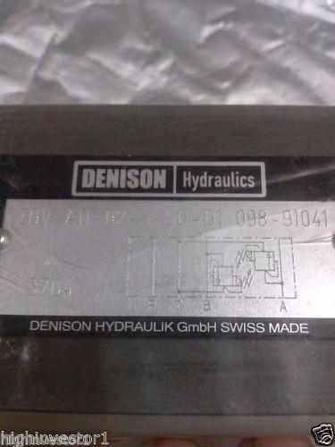DENISON FLOW CONTROL VALVE # ZDV-AR-02-5-S0-D1 098-91041