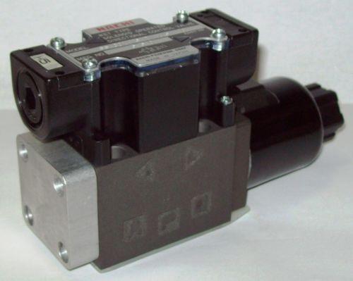 D03 4 Way 4/2 Hydraulic Solenoid Valve i/w Vickers DG4V-3-2BL-WL 115V Rectified