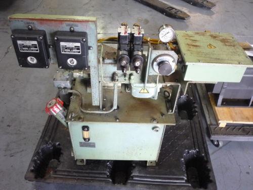 SHOWA VDRU-1A-40BHX 212 Hydraulic Power Unit NACHI VDR-1A-1A2-21 Pump OKUMA LB15