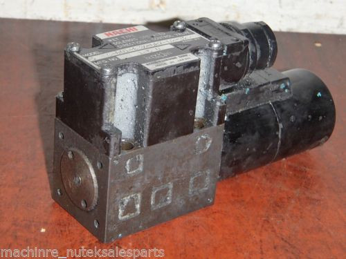 Nachi Wet Type Solenoid Operated Directional Valve S-G01-B3X-GRZ-D2-32