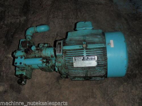 Nachi Piston Pump PVS-1B-16N1-2535A _ UPV-1A-16N1-15A-4-2535A _ Motor LTIS70-NR