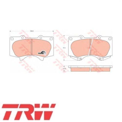 TRW Bremsbelagsatz Bremsbeläge Bremsklötze Vorn MITSUBISHI GDB3364