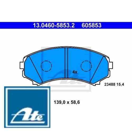 Bremsbelagsatz Bremsbeläge Bremsklötze ATE 605853 23488 130460-58532