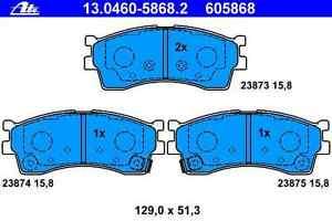 Bremsbelagsatz Scheibenbremse KIA - ATE 130460-58682