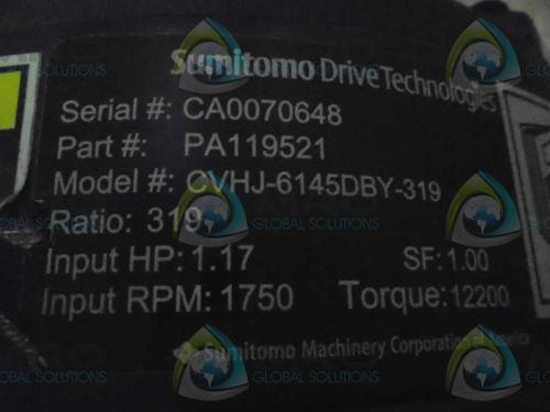 SUMITOMO DRIVE TECHNOLIGIES PA119521 MOTOR  Origin NO BOX