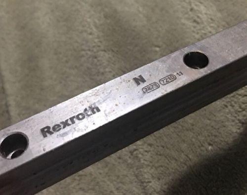 Lot Of 4 - Rexroth 535#034; Linear Rails N 7873 7210