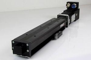 REXROTH MNR R055701647 Modultechnik Linearmodul + PARKER SMHA601051 Servomotor
