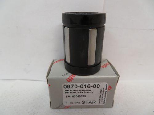 Origin REXROTH STAR LINEAR BEARING 0670-016-00 067001600